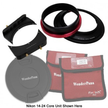 """Fotodiox WonderPana FreeArc Kit - Rotating Filter System Holder, 6.6"""" Filter Brackets and Lens Cap for Ultra Wide Angle Zoom Lenses"""