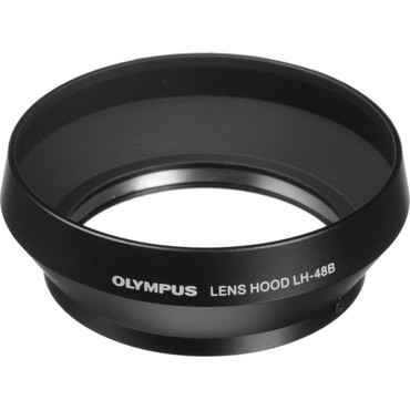 LH-48B Lens Hood for 17mm f/1.8 Lens (black)