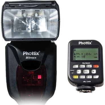Phottix Mitros+ TTL Flash and Odin Flash Trigger Combo for Nikon Cameras