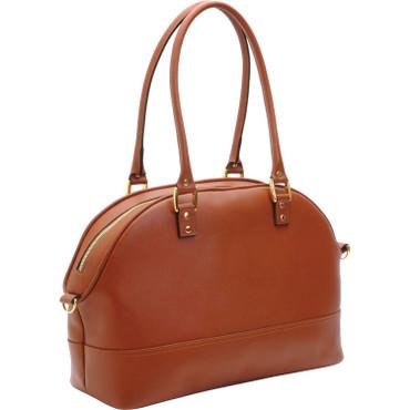 ONA The Chelsea Saffiano Camera Bag, Antique Cognac Leather