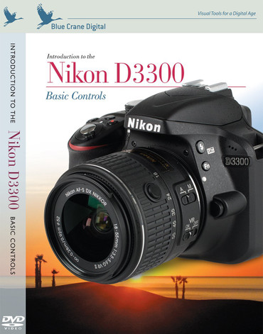 Blue Crane Digital zBC159 Introduction to the Nikon D3300: Basic Controls by Blue Crane Digital (Grey)