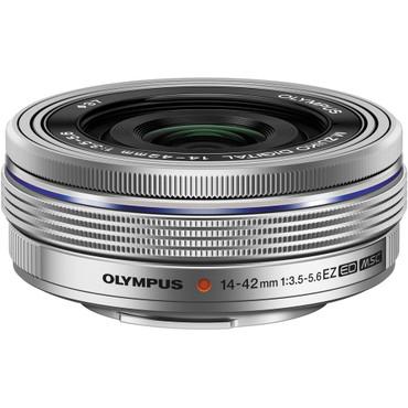 Olympus 14-42mm f3.5-5.6 EZ M.Zuiko Lens (Silver)