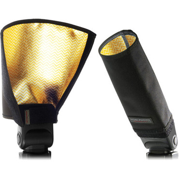 "8"" Speed Snoot/Reflector (Gold-Silver)"