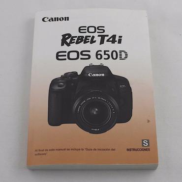 Canon T4I/EOS650D Guide