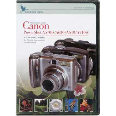 DVD For Canon A570is/A620/A630/A640/A710is