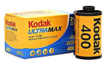 Kodak UltraMax 35mm Film 400 36 Exp. (Color)
