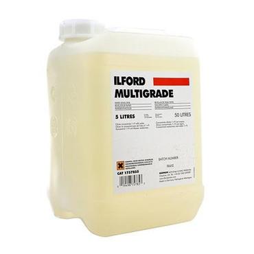 Ilford Multigrade Developer (Liquid) for Black & White Paper - 5 Liters