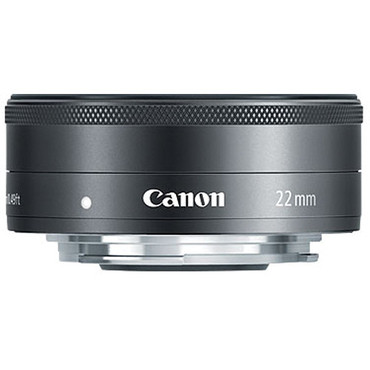 Canon EF-M 22mm F/2 STM (BLACK)