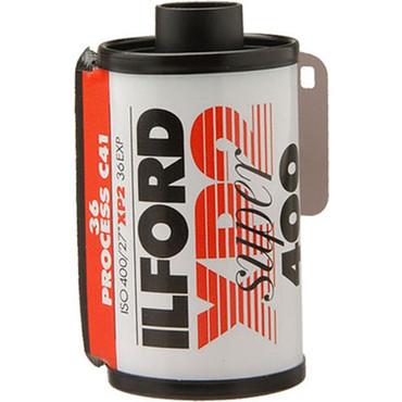 Ilford XP2 Super 35mm Film 400 36 Exp (B&W C-41 Process)