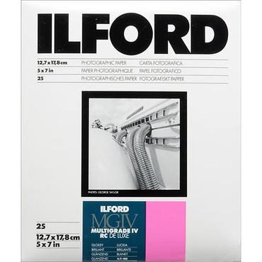 "Ilford 5""X7""-100Sh Multigrade IV Glossy"