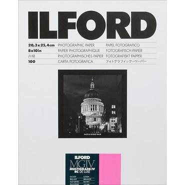 Ilford 8X10in Multigrade IV RC Deluxe (glossy) 100Sh