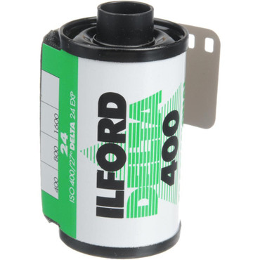Ilford Delta 35mm Film 400 36 Exp (B&W)