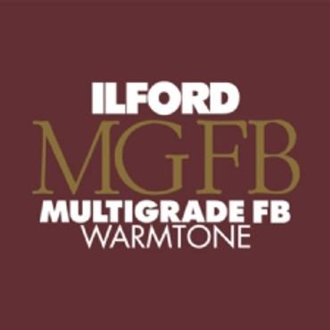 Ilford Multigrade FB Warmtone 8x10 25 Sheets Semi Matte ILF1168419