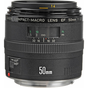 Canon 50Mm F2.5 Compact Macro EF-AF