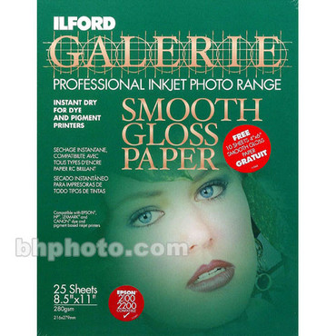 Smooth Gloss 25 Sheets & 10 Sheets 4X6