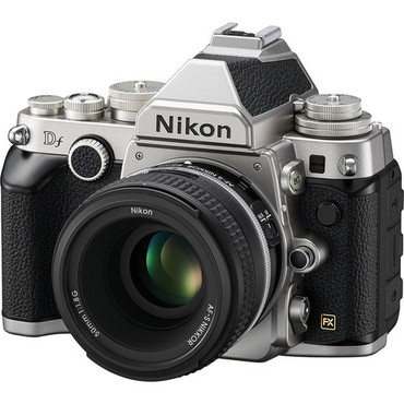Pre-Owned - Nikon DF Kit w/ 50mm f/1.8G SE (Silver)