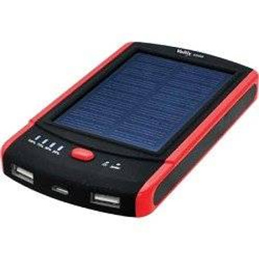 Voltix Portable 8800mAh Battery Pack - Charges via USB port or Solar Energy
