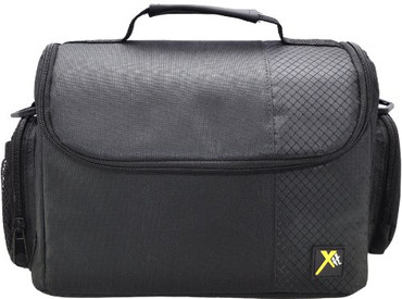 Xit XTCC3 Deluxe Digital Camera/Video Padded Carrying Case, Large (Black)