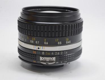 Pre-Owned - Nikon 50MM F1.4 AIS Lens