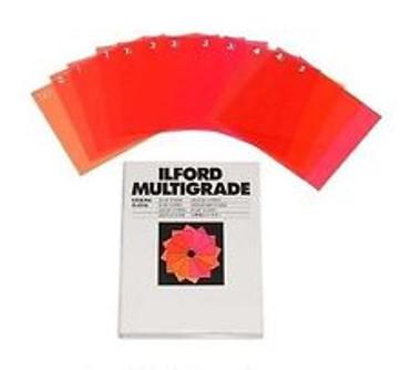 """Ilford Multigrade Filter Set 3.5x3.5"""""""