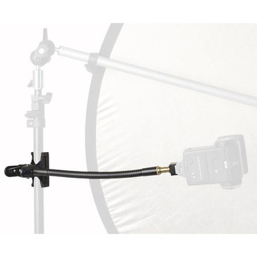 """STR118 Flexi Adapter Arm With Hot Shoe Adapter 12"""""""