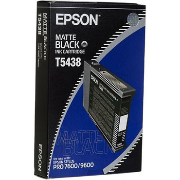 Matte Black Ink UltraChrome Cartridge for 4000, 7600 & 9600 Printers (110ml)
