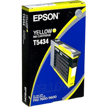 Yellow Ink UltraChrome Cartridge for 4000, 7600 & 9600 Printers (110ml)