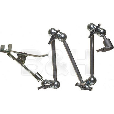 D300 Articulating Arm with Spring Clamp