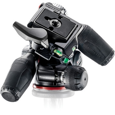 Manfrotto MHXPRO3W X-PRO 3-Way Head with Retractable Levers and Friction Controls (Black)