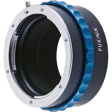 Novoflex Mount Adapter -Fuji to Nikon Lens