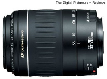 Pre-Owned - Canon EF 55-200Mm F/5-5.6 II USM