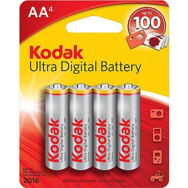 Kodak AA 1.5v Alkaline Battery - 4 Pack