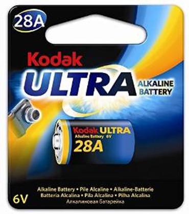 Kodak Ultra 6V 4LR44 (28A) Alkaline Battery