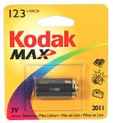 Kodak Photolife 3V Li Batteries - 1 Pack