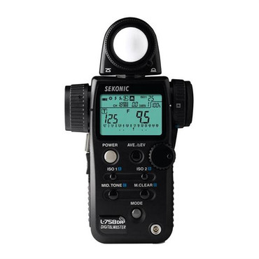 Sekonic - L-758Dr Digitalmaster Flash Meter