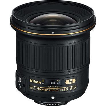 Nikon AF-S FX 20mm f/1.8G AF-S ED Nano