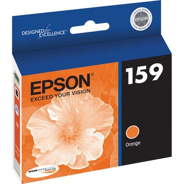 Orange Ink Cartridge For Stylus Photo R2000