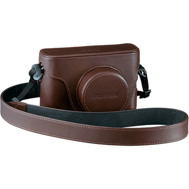 X100 Brown Leather Case