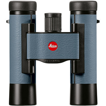 Leica 10x25 Ultravid Colorline Binocular (Pigeon Blue) (ACE47796)