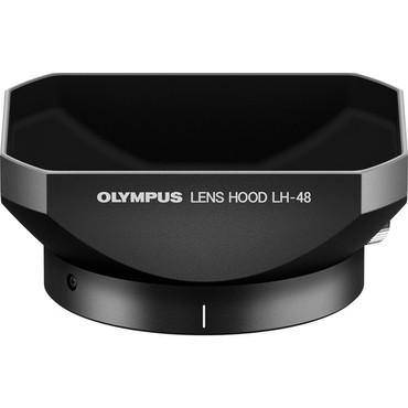 Olympus V324480BW000 LH-48 Lens Hood for 12 mm Lens (Black)
