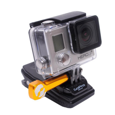 Rotatable 360-Degree Spring Clip for GoPro Cameras by XShot (XSCLIP)