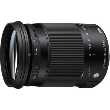 Sigma 18-300mm F3.5-6.3 DC Macro OS HSM (C) for Canon EF