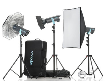 Broncolor Minicom Expert RFS 3 Monolight Kit - B-31.497.07 (ACE12811)