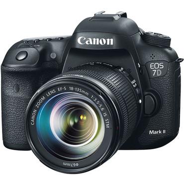 EOS 7D Mark II DSLR Camera w/ 18-135mm IS STM Lens