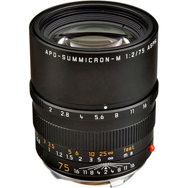 Summicron-M 75mm F/2 APO ASPH (Black)