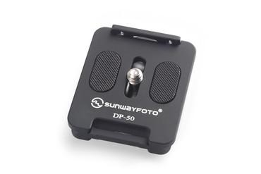 SUNWAYFOTO DP-50 50mm QR Camera Plate w Retractable Lip DP50 Arca Compatible Sunway