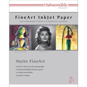 "Hahnemuhle Photo Rag 308g Deckle Edge Fine Art Paper (17 x 22"" - 25 Sheets)"
