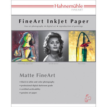 """Hahnemuhle William Turner 310 Deckle Edge Matte FineArt Paper (8.5 x 11"""", 25 Sheets)"""