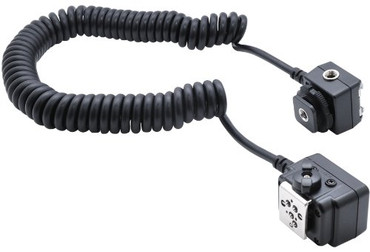 Xit XTSCN Heavy Duty Off-Camera Flash Cords that Stretch to 7.5-Feet for Nikon (Black)