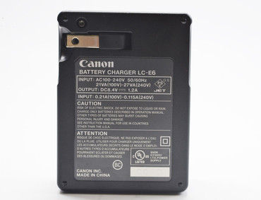 Pre-Owned - Canon LC-E6 Batttery Charger For LP-E6